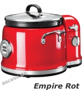 KitchenAid 5KMC4244EER, Multi-Cooker mit Rührturm, Empire Rot