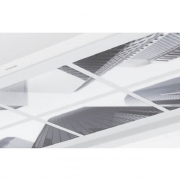 Silverline AGP-OC 104, Acrylglasplatte, Optik City